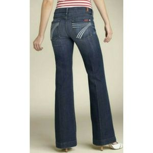 7 For All Mankind Dojo Flare Jeans 29